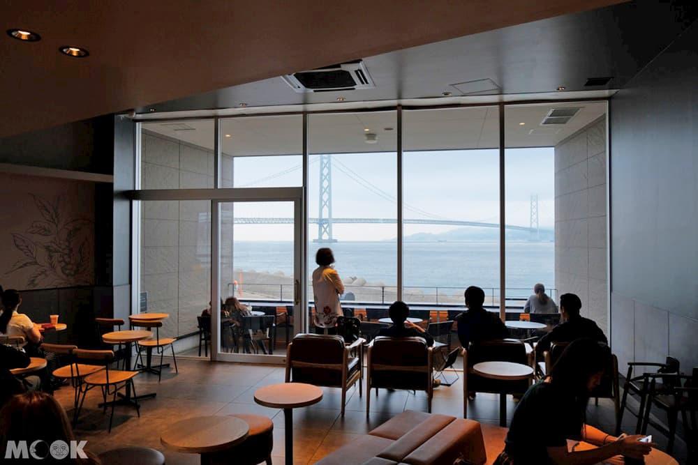 星巴克神戶西舞子店二樓