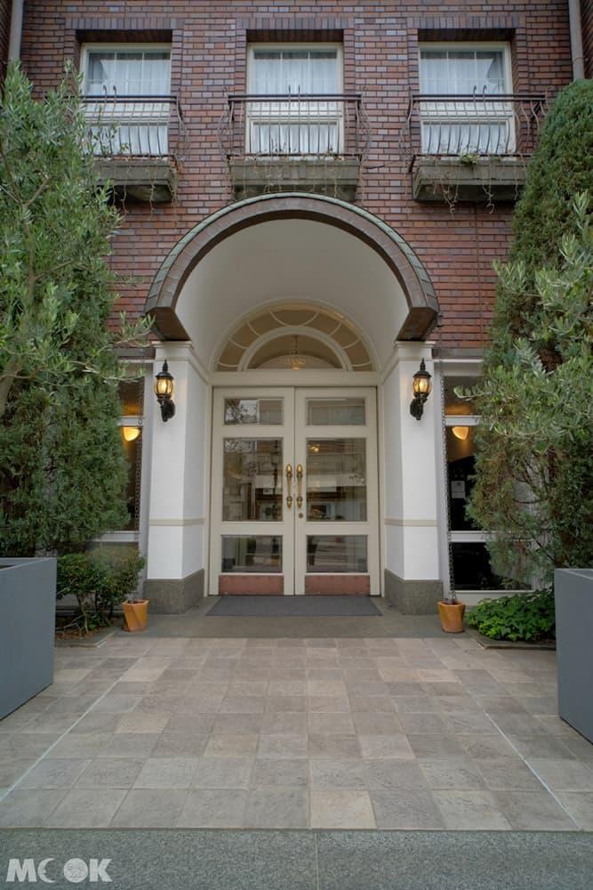 神戶北野飯店有著古典歐風的外觀與內部