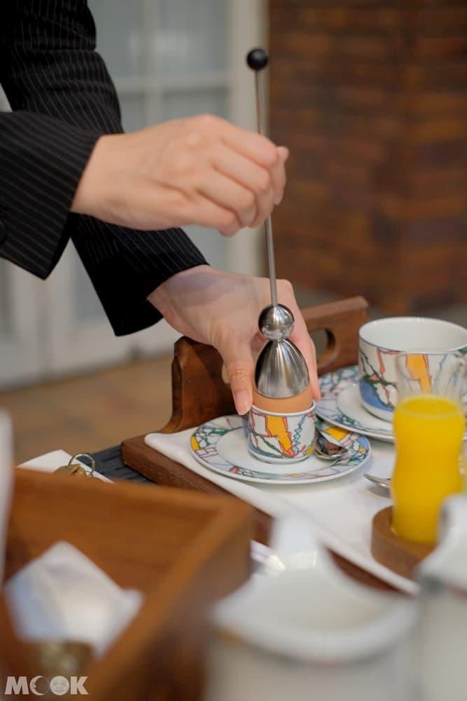 神戶北野飯店 – 世界第一早餐 – 半熟水煮蛋