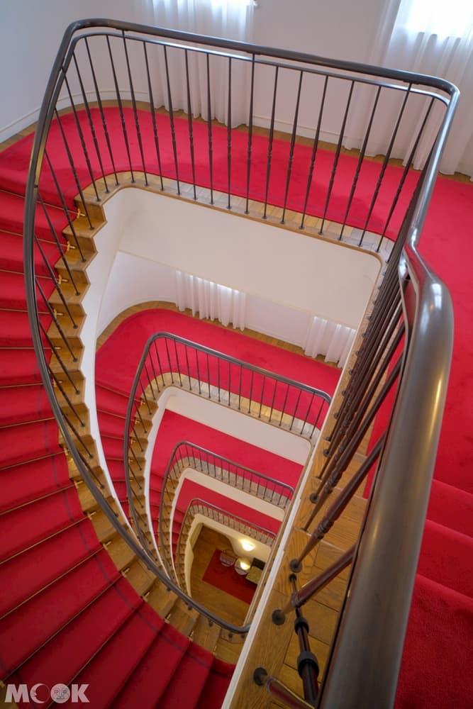 神戶北野飯店樓梯