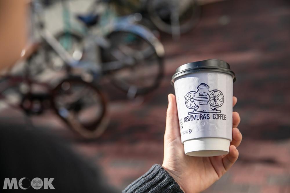 神戶西村咖啡中山手本店外帶咖啡