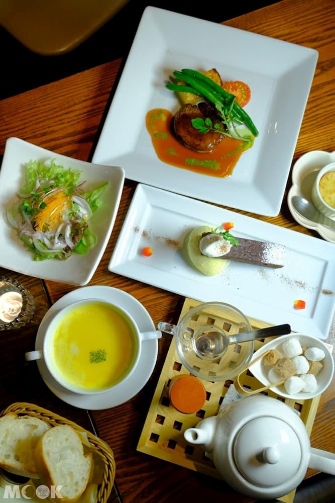 六甲山歐風Granite Café晚餐套餐