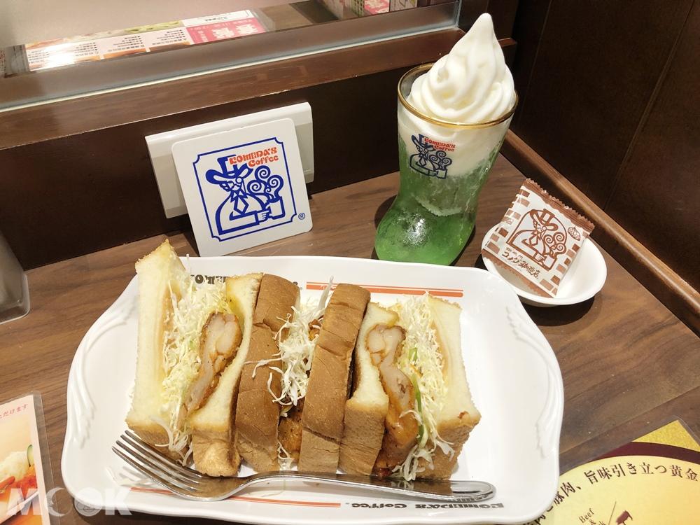 客美多咖啡Komeda's Coffee 照燒雞腿排吐司