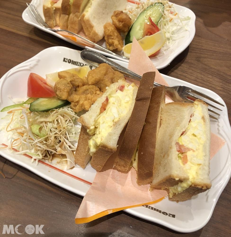客美多咖啡Komeda's Coffee-午間套餐