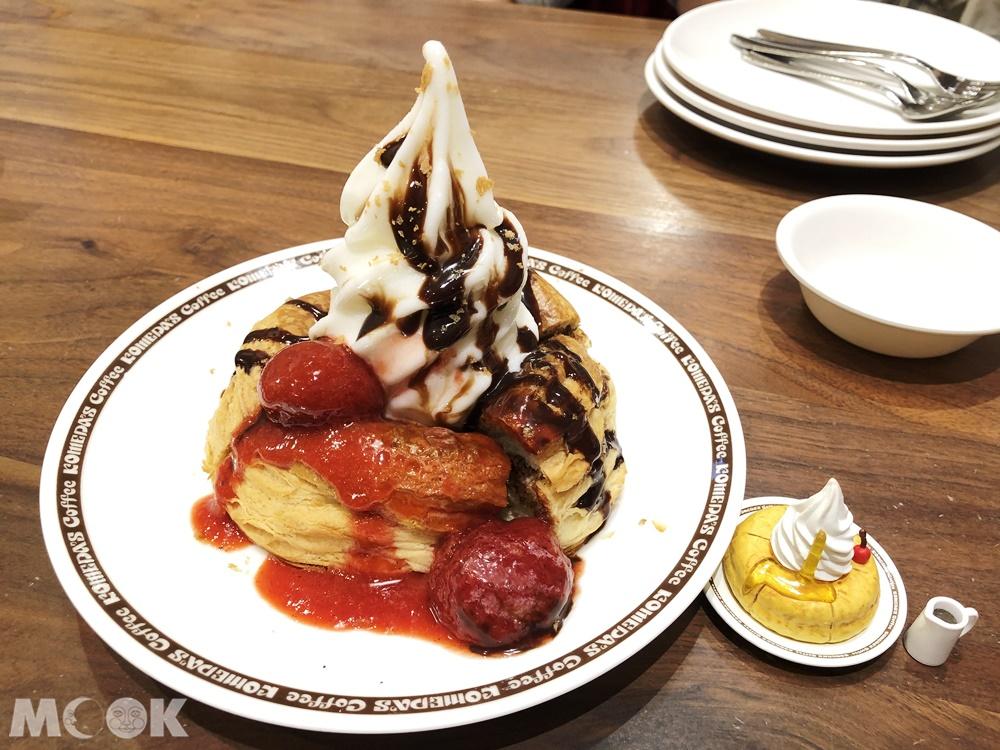 客美多咖啡Komeda's Coffee-巧克力冰與火