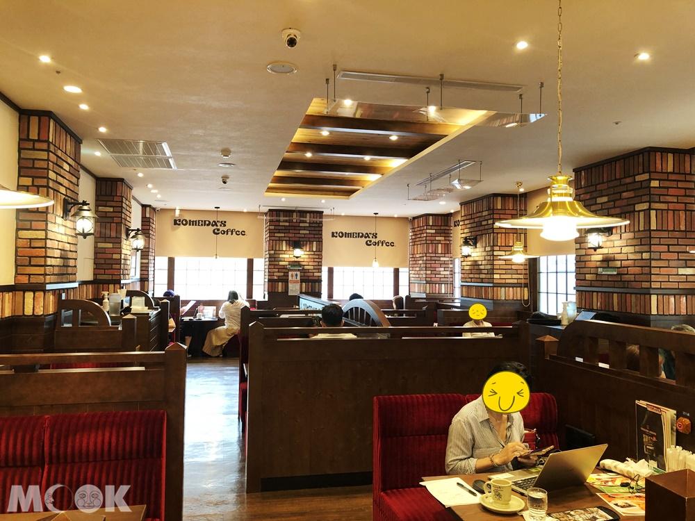 客美多咖啡Komeda's Coffee-南京建國店店內環境