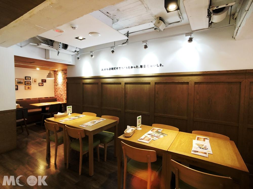 九州鬆餅-台北富錦店 用餐環境