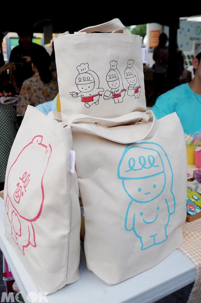 台灣台中市 台中市集 療癒市集裡的攤販