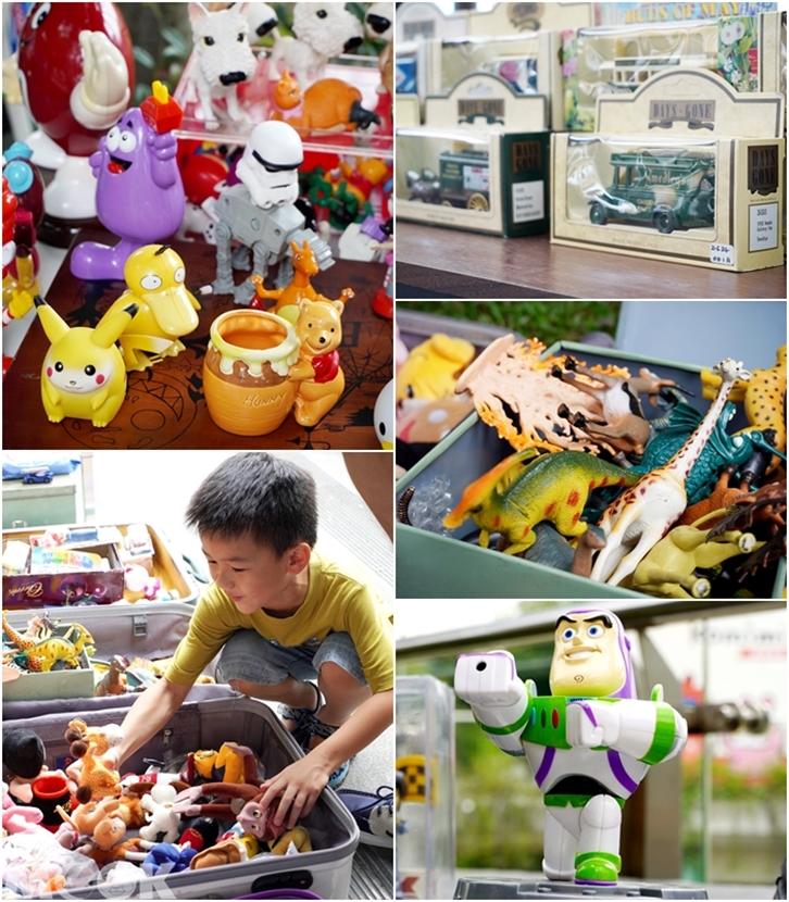 台灣台中市 台中市集 療癒市集玩具攤合圖