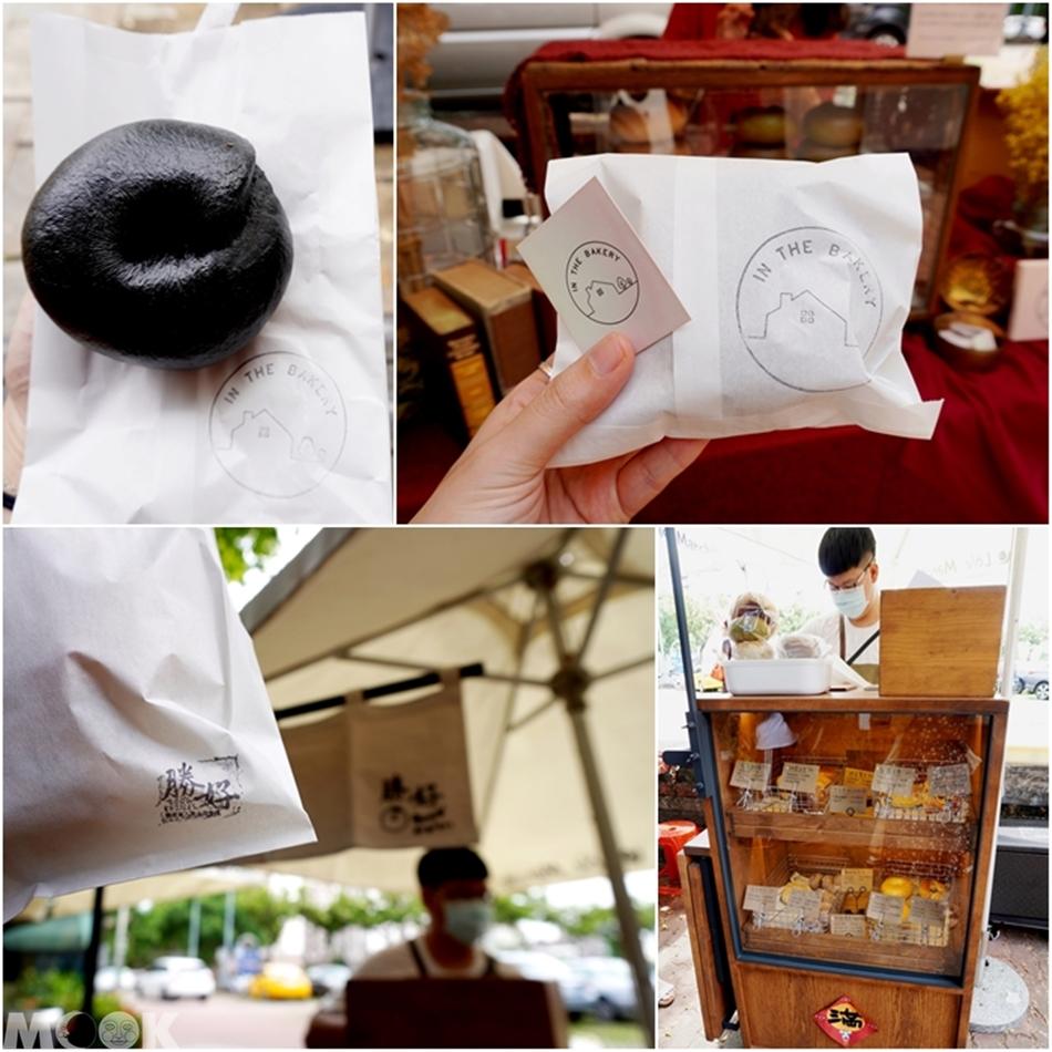 台灣台中市 台中市集 小蝸牛市集 貝果們