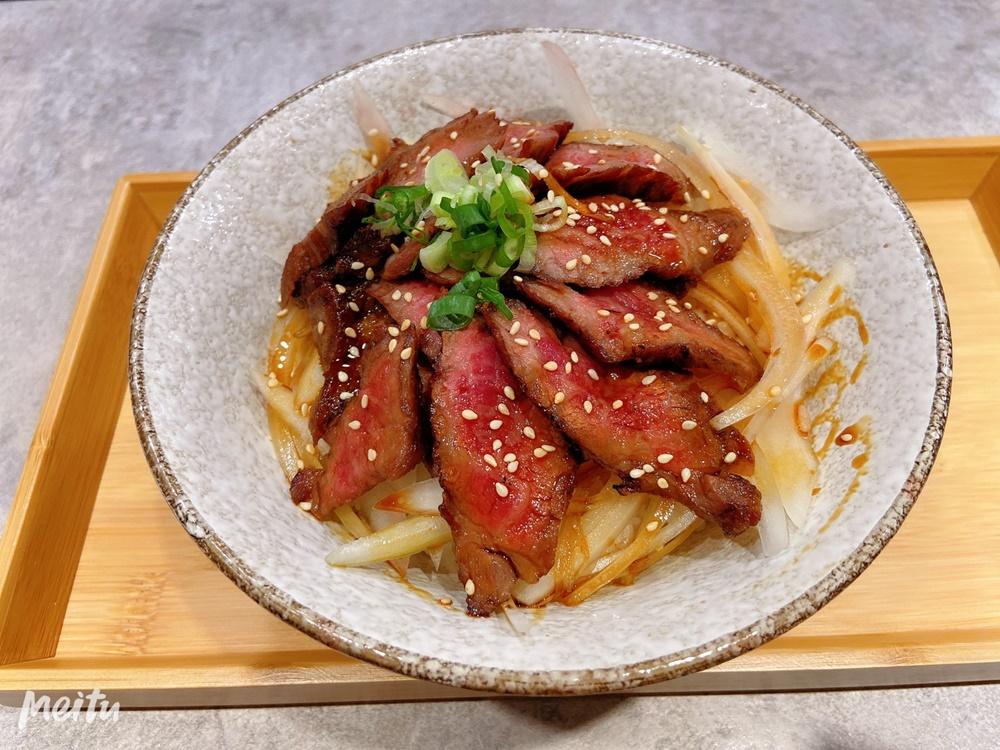 春月日式食堂-特級牛排丼