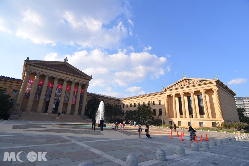 費城的費城藝術博物館