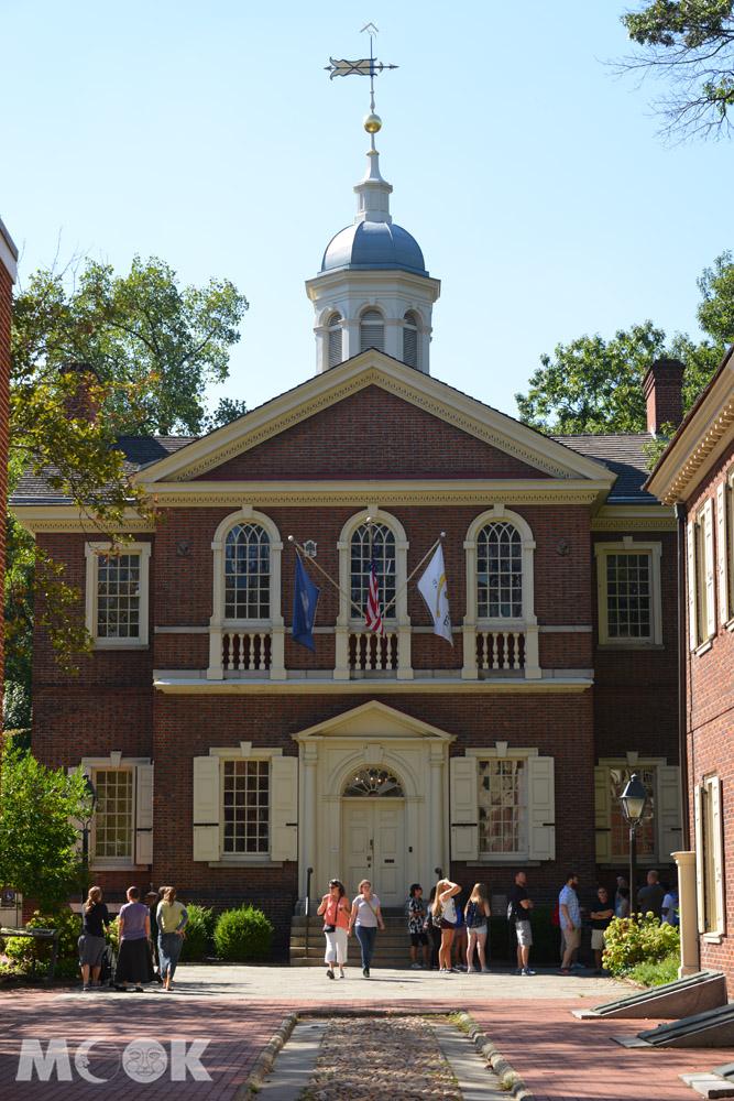 費城獨立國家歷史公園內的木匠廳