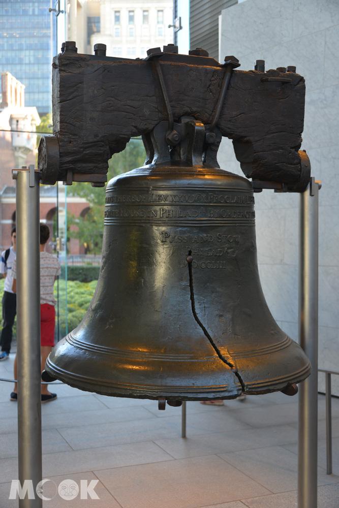 費城自由鐘中心內的自由鐘