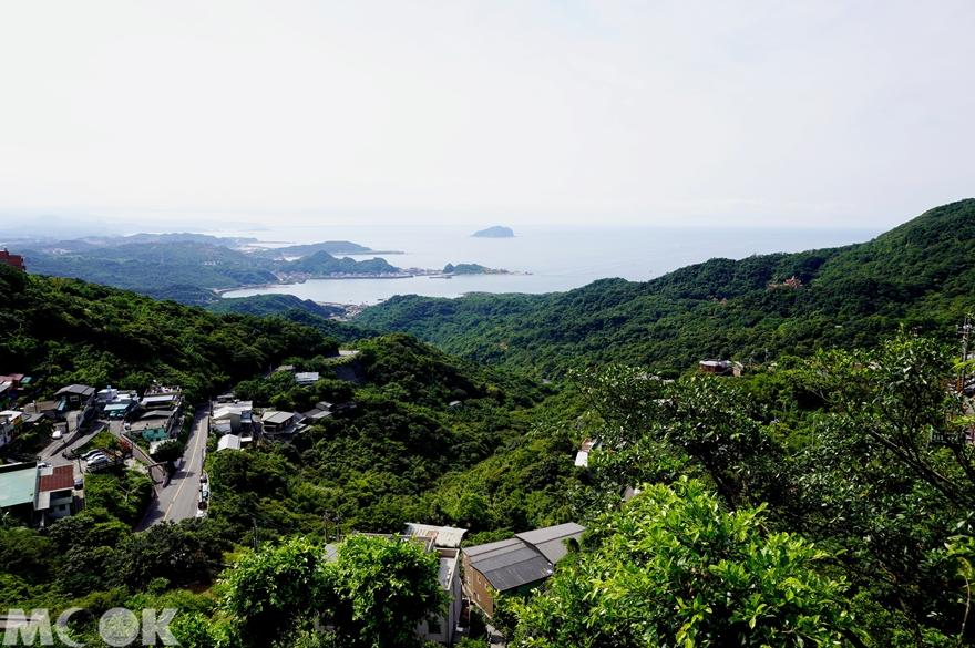 台灣新北市 瑞芳區 九份老街 北海岸景色