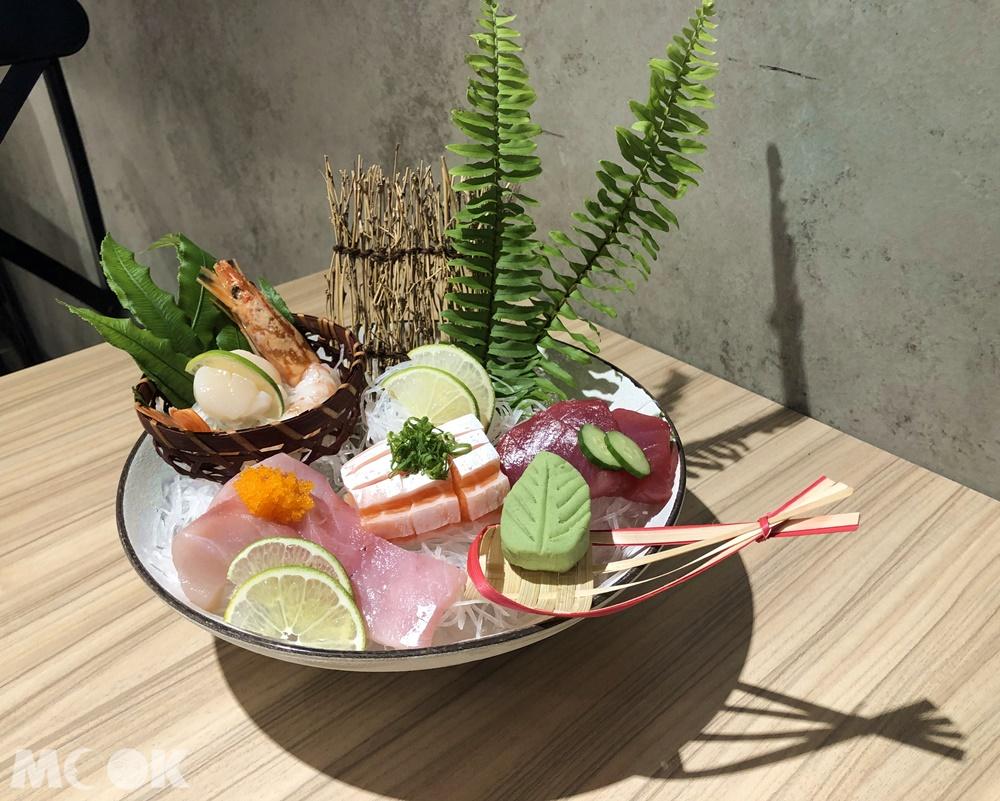 春月日式食堂-綜合刺身