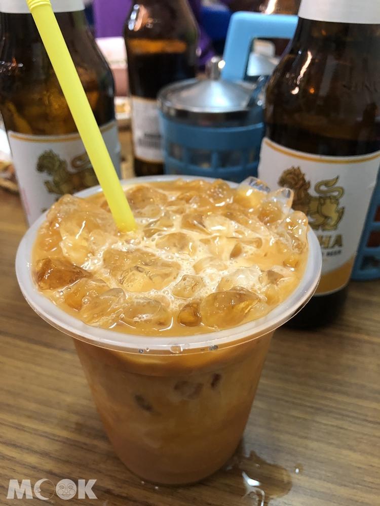 哈哈羅55泰式船麵-泰式奶茶