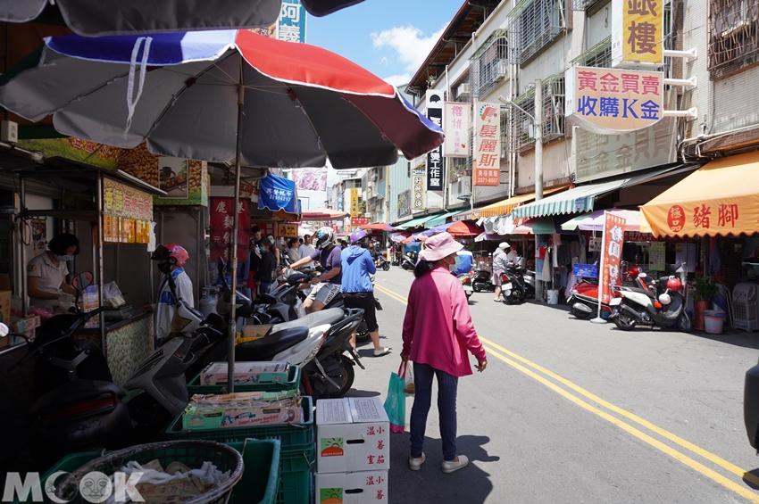 台灣台中市 西區 第五市場 樂群街