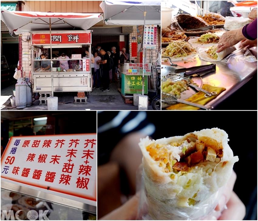 台灣台中市 西區 第五市場 游記潤餅