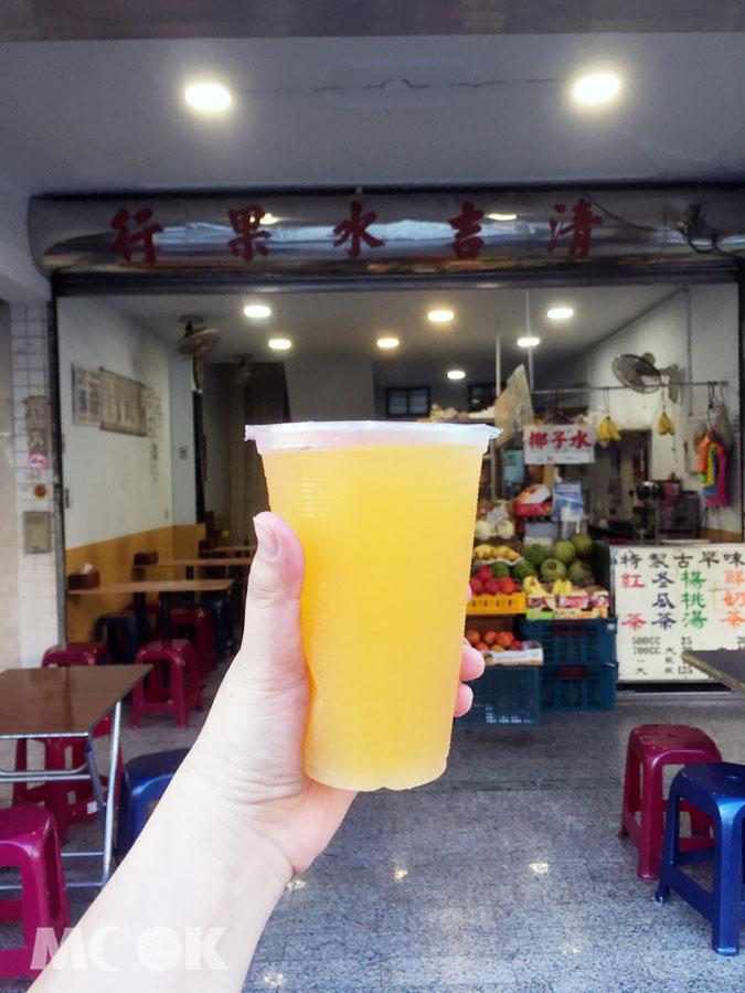 清吉水果柳丁椰子汁