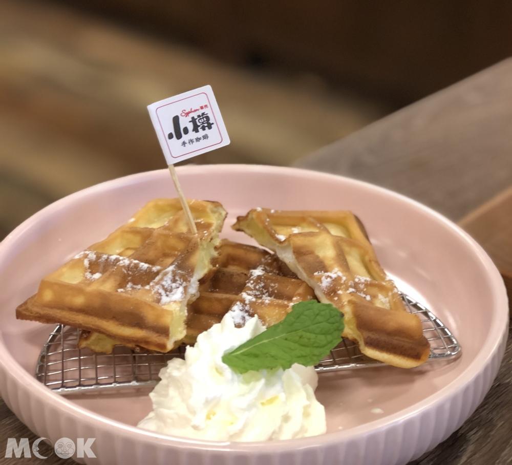 小樽手作咖啡-北海道鮮奶油鬆餅