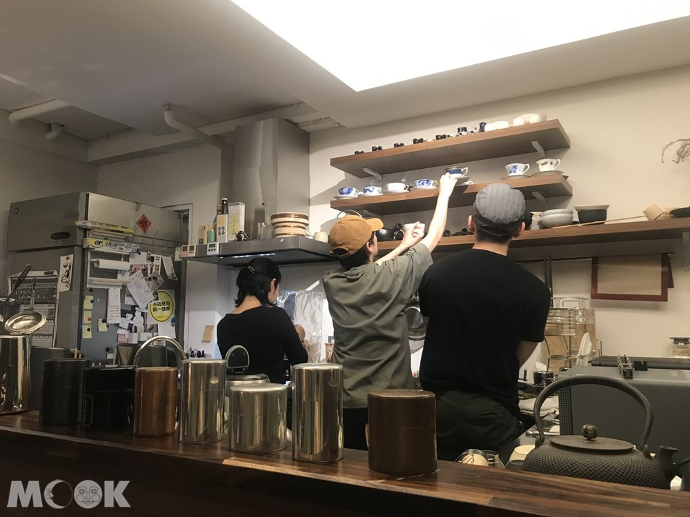 台北日式風情的喫茶店香