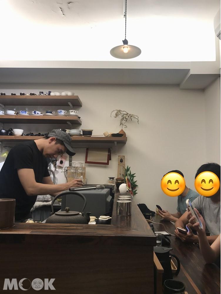 台北松山區的日式咖啡名店喫茶店香