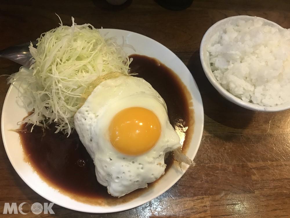 名古屋台所必吃的煎蛋手做漢堡肉