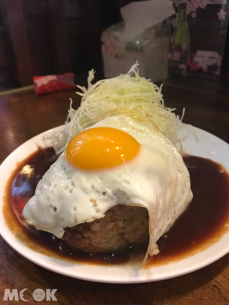赤峰街名古屋台所的手做漢堡肉