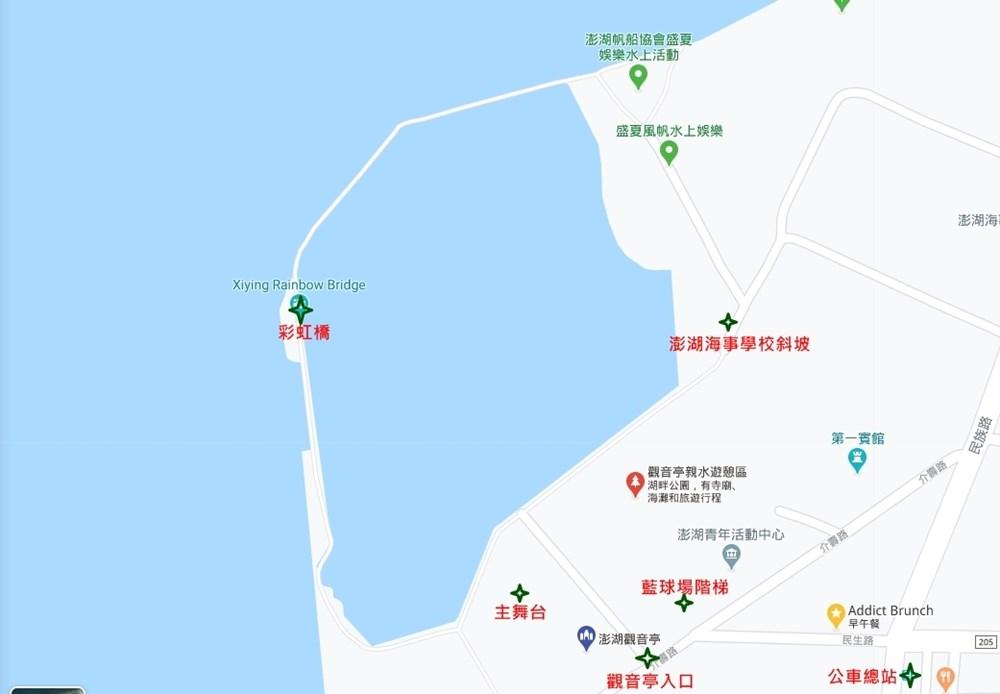 觀音亭地圖