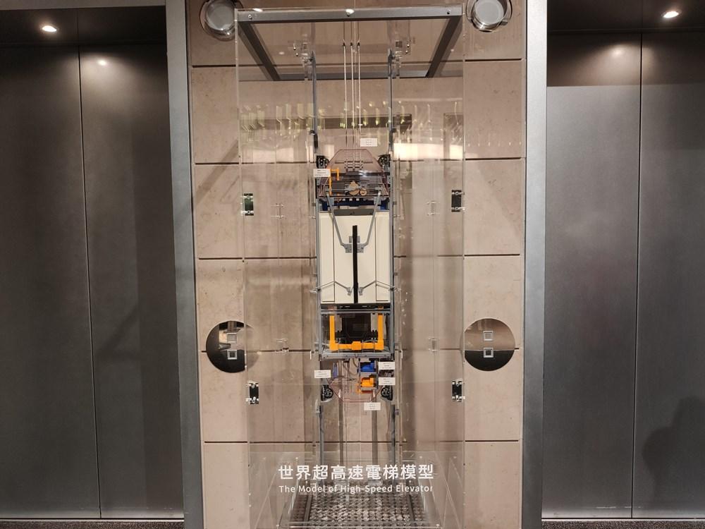 世界最快速電梯模型