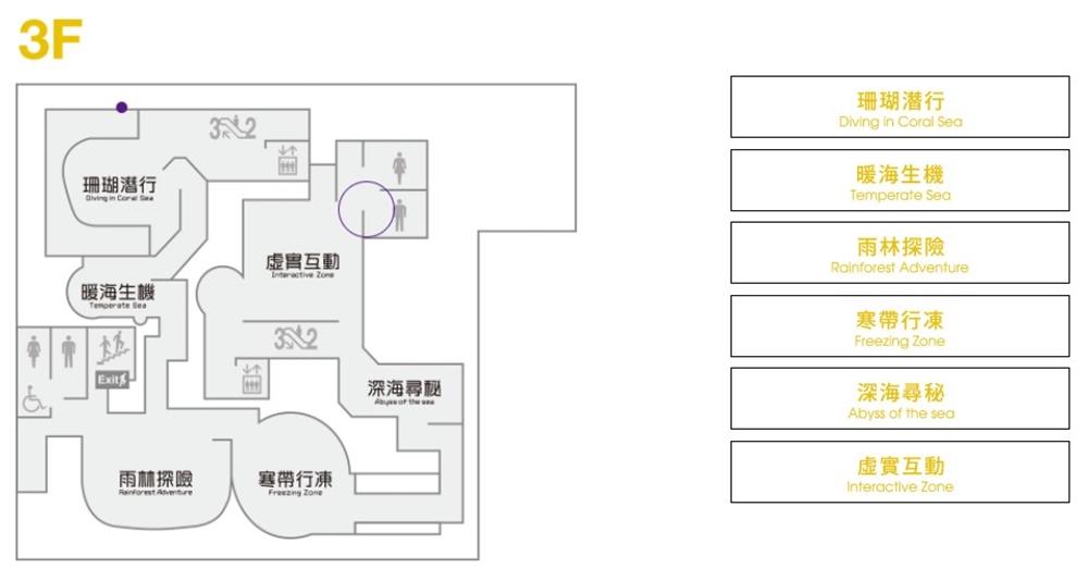 Xpark 3樓平面圖