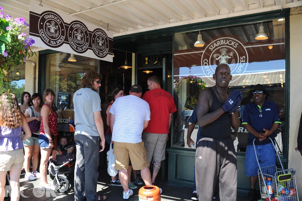 西雅圖派克市場的星巴克創始店