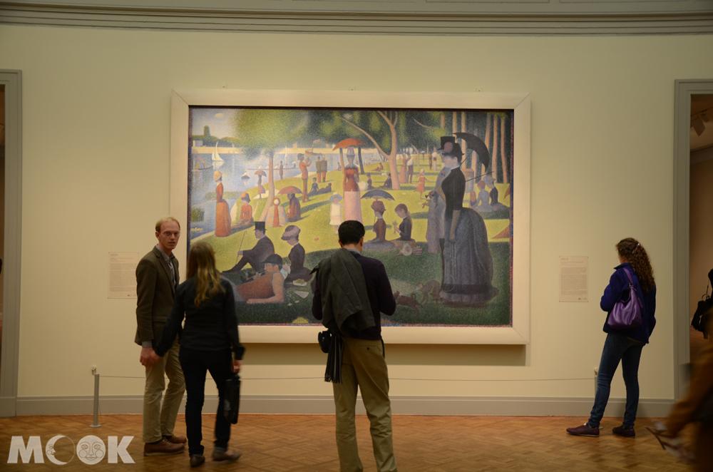 芝加哥美術館內的大碗島的週日午後