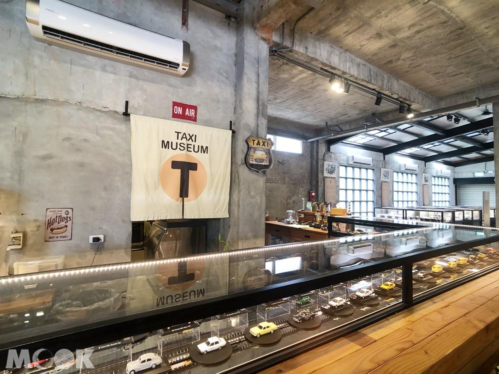 TAXI Museum 計程車博物館 像迴轉壽司一樣的展示