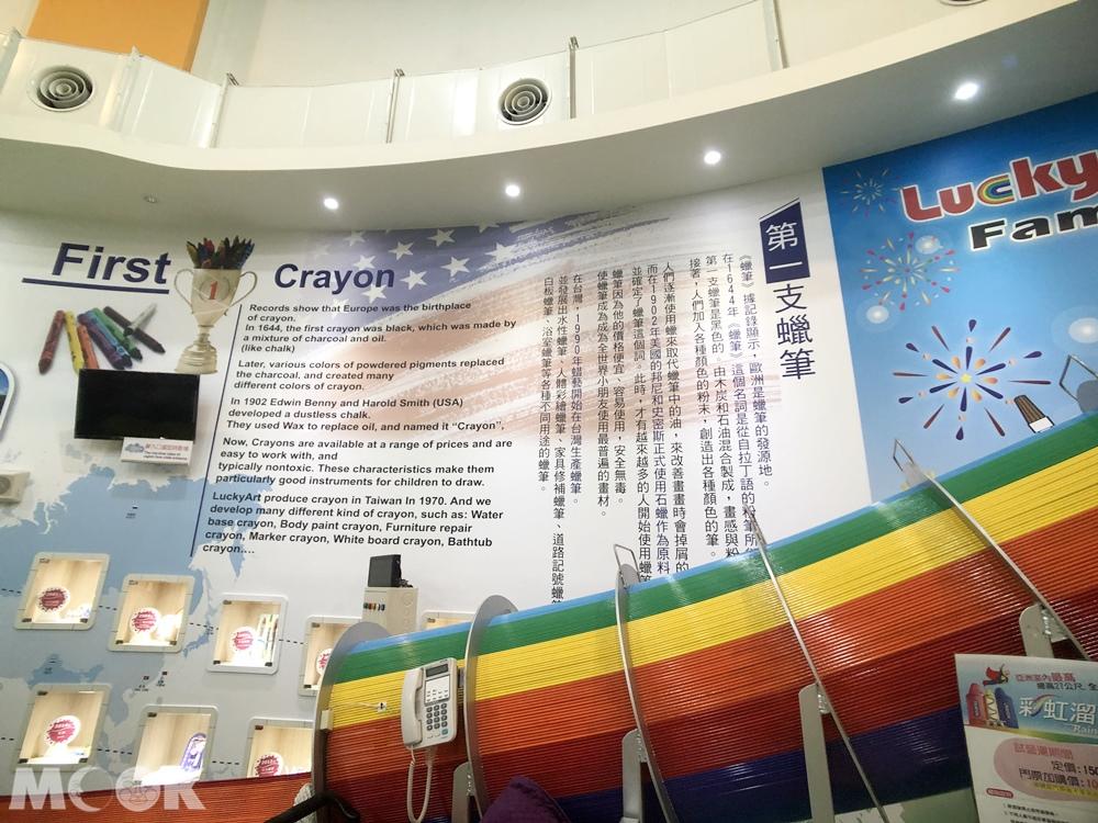 宜蘭 蘇澳 蜡藝蜡筆城堡 企業形象展示區