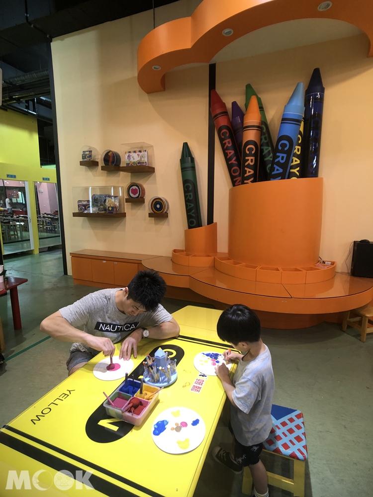 宜蘭 蘇澳 蜡藝蜡筆城堡 DIY教室