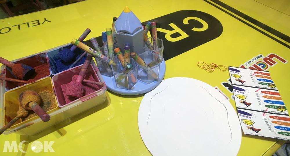 宜蘭 蘇澳 蜡藝蜡筆城堡 DIY說明