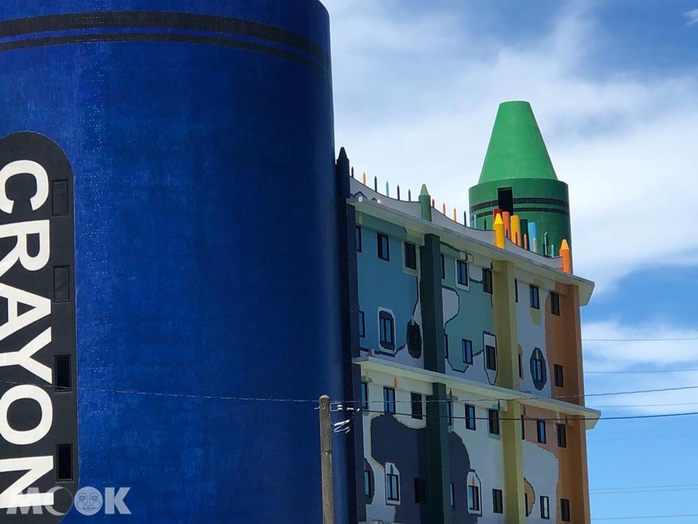 宜蘭 蘇澳 蜡藝蜡筆城堡 外觀