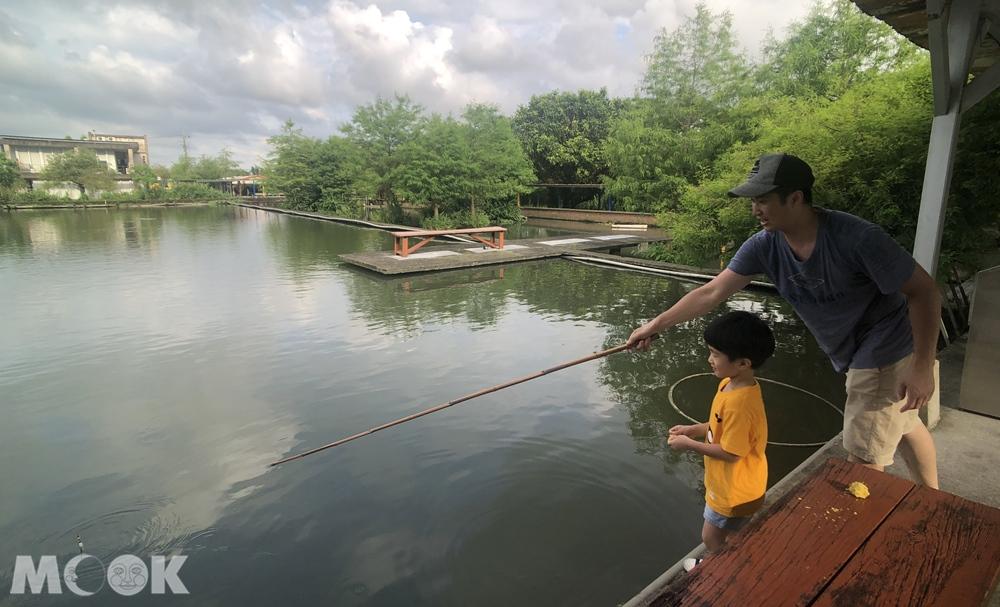 勝洋水草休閒農場 釣魚體驗