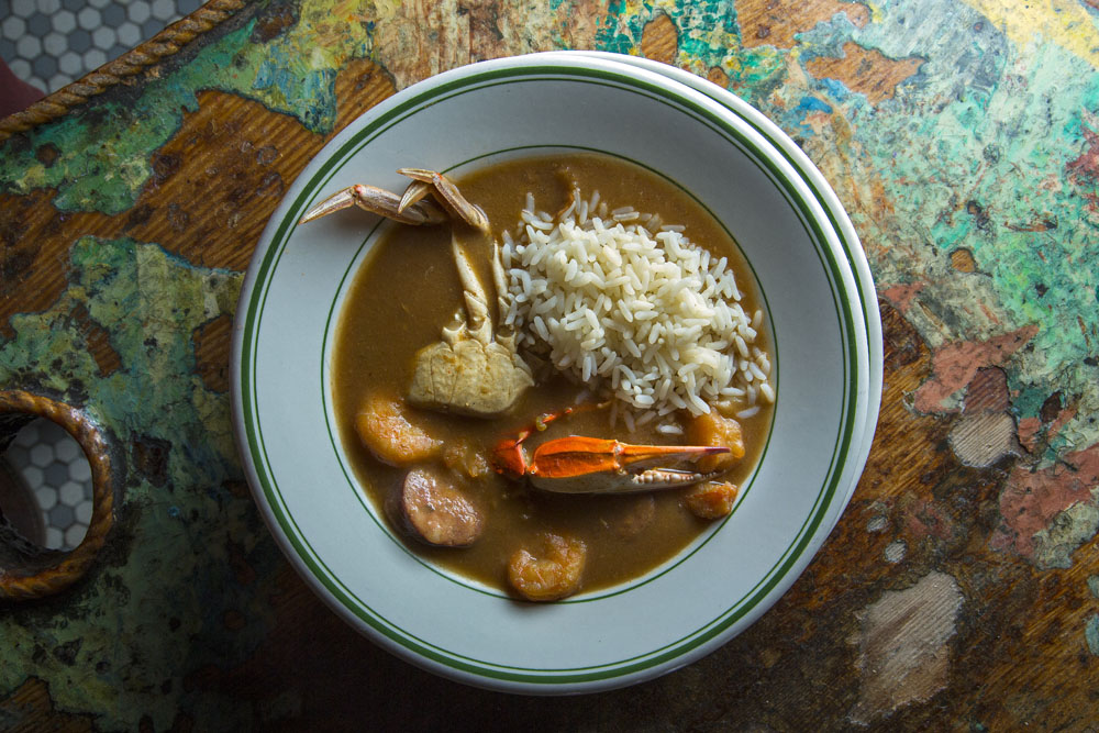 紐奧良名菜秋葵湯飯