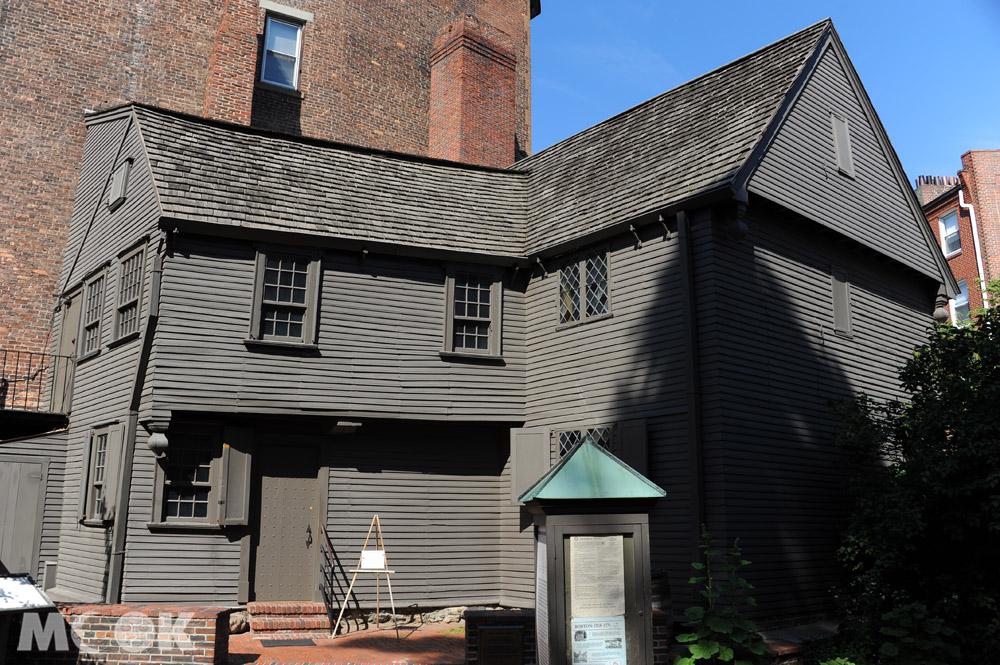 波士頓的保羅李維故居