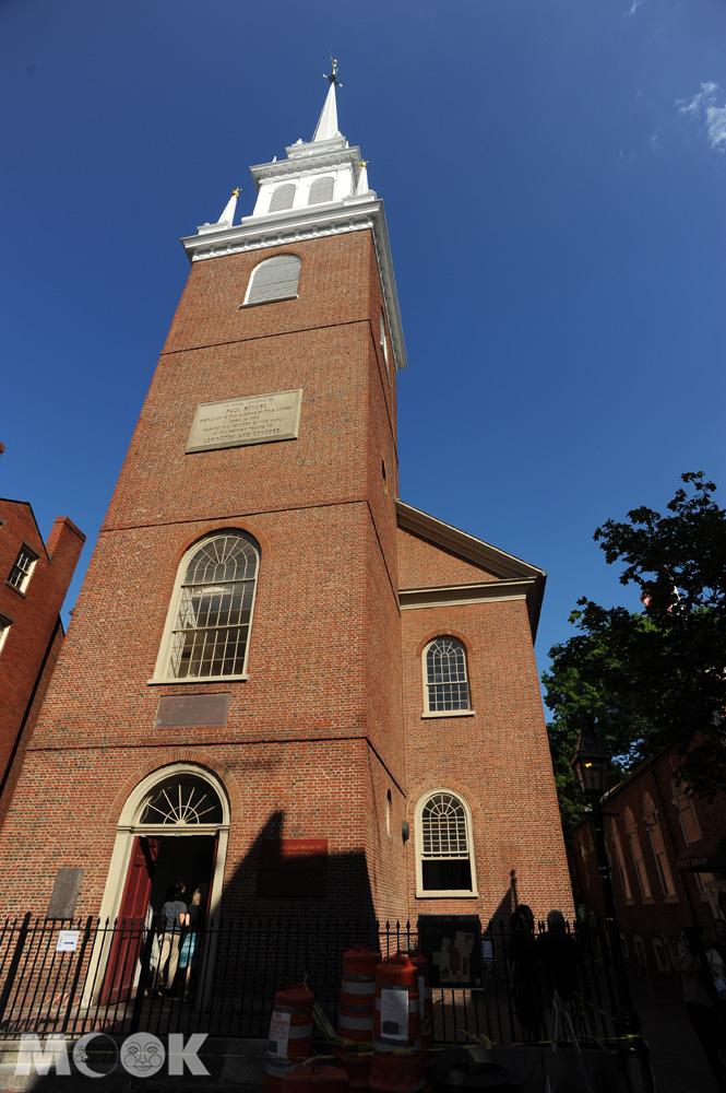 波士頓的老北教堂