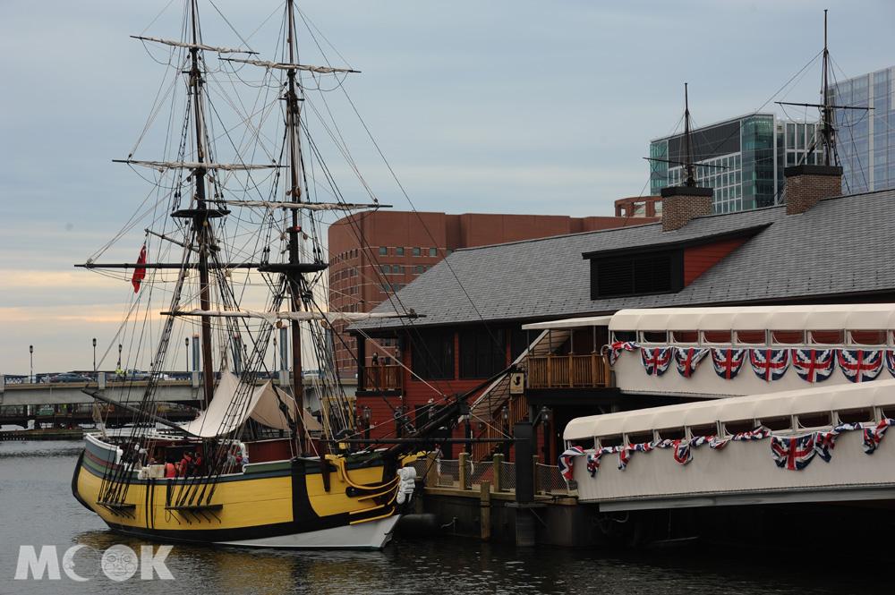 波士頓的波士頓茶葉事件博物館