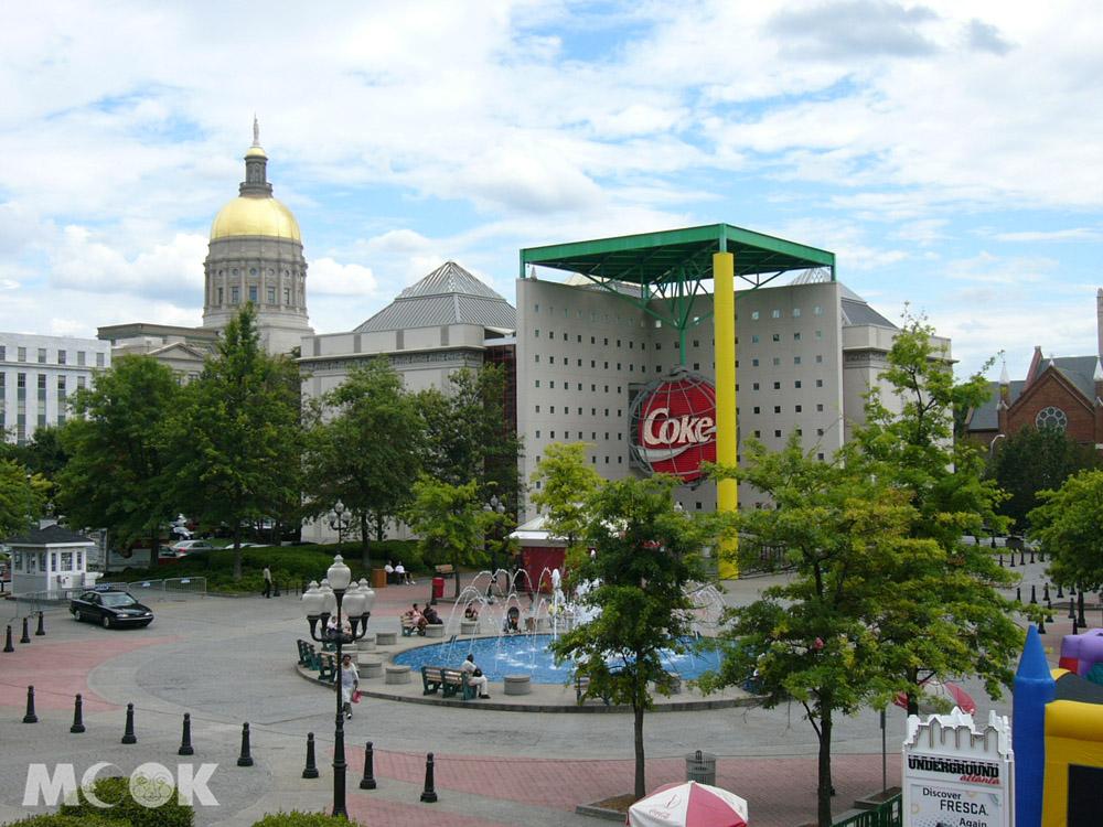 亞特蘭大的可口可樂總部