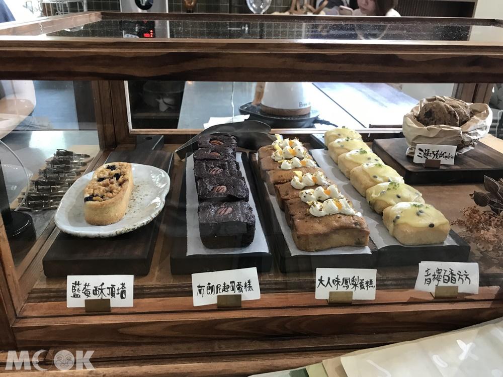 新竹熱門咖啡廳微生的甜點