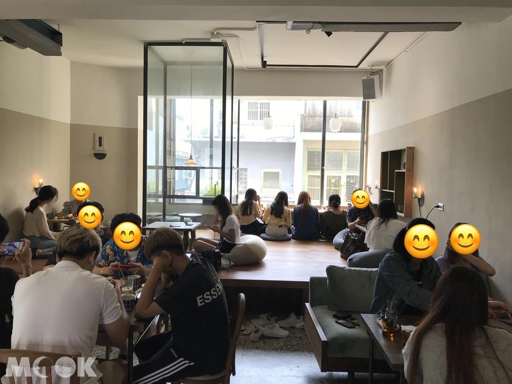 新竹老屋重生的咖啡廳微生
