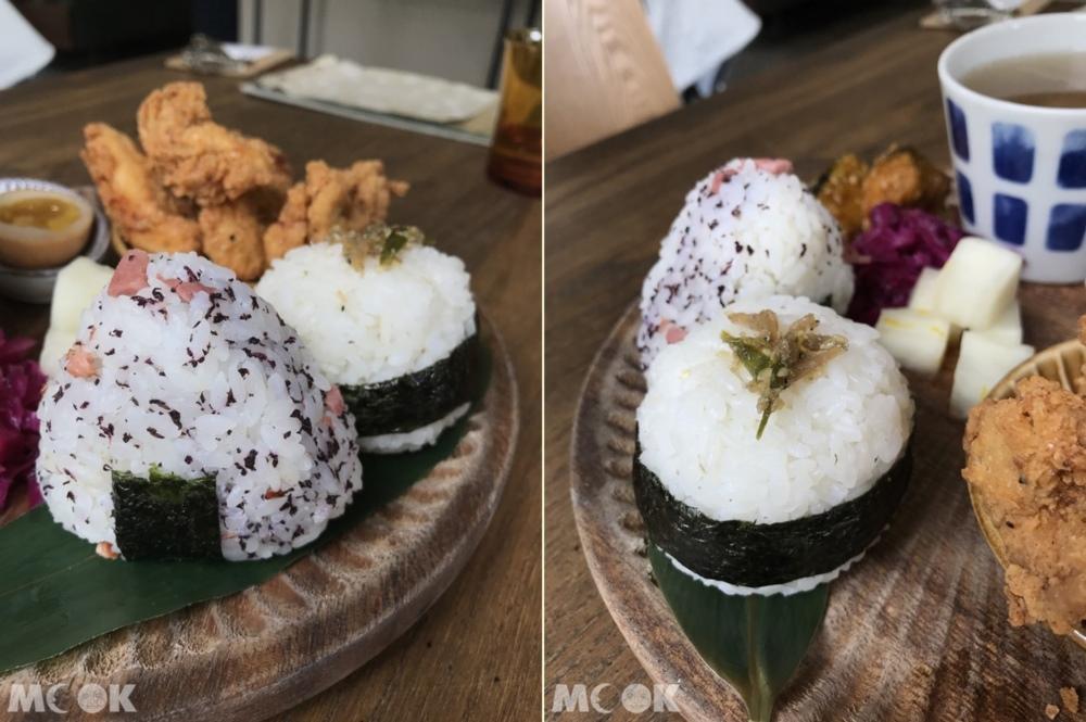 新竹咖啡廳微生的日式飯糰