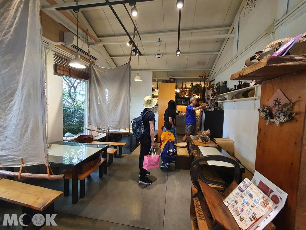 鶯歌 隱村時光 店內用餐環境