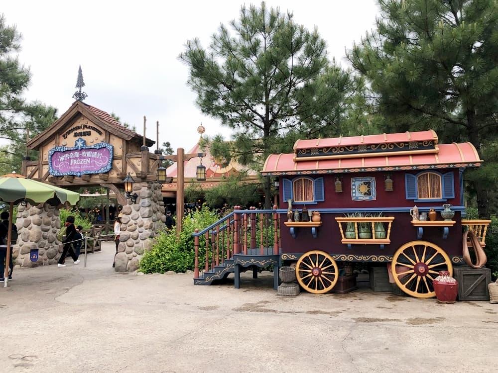 上海迪士尼樂園冰雪奇緣歡唱盛會